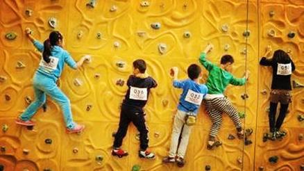 青少年攀岩体验