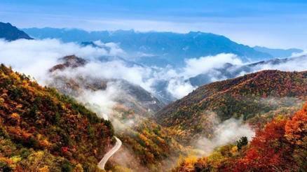 徒步登高--圭峰山徒步一日赏秋徒步