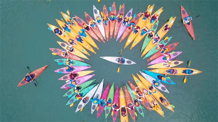水上皮划艇主题团建活动