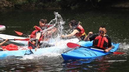 水上团建——皮划艇,刺激好玩的网红打卡团建活动